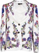 Roberto Cavalli Floral Print Blazer