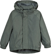 Molo Metal Green Melange Waiton Rain Jacket