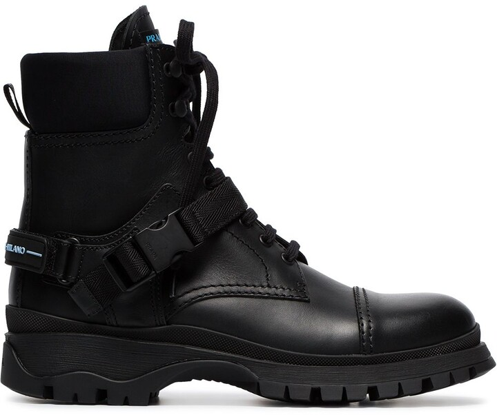 7a9bb2f7047 lace-up combat boots