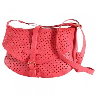 Louis Vuitton Saumur Pink Leather Handbags