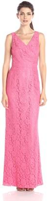 Donna Morgan Women's Lark Long Lace Gown
