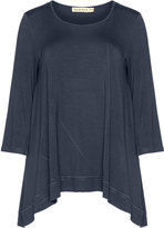 Isolde Roth Plus Size Jersey long sleeve top