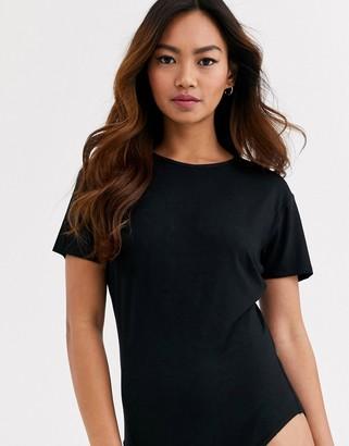 Brave Soul gina bodysuit-Black