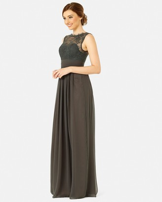 Tania Olsen Designs - Women's Grey Maxi dresses - Charlotte Dress - Size One Size, 8 at The Iconic