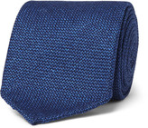 Drakes Drake's 8cm Wool, Silk and Cashmere-Blend Tie