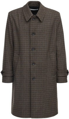 Department Five Prince Of Wales Long Coat