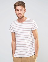 Selected Stripe T-Shirt with Pocket