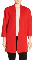 Eileen Fisher Straight Open Front Cardigan