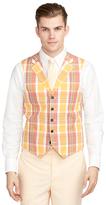 Brooks Brothers Madras Vest