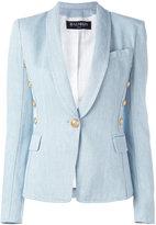 Balmain metallic embellished blazer