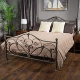 Pier 1 Imports Nathan Champagne Iron Queen Bed