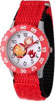 Marvel Emoji Boys Red Strap Watch-Wma000090