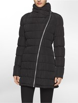 Calvin Klein Asymmetrical Quilted Jacket