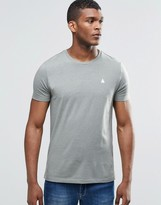 Asos T-Shirt With Logo And Crew Neck In Green