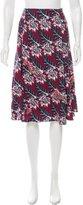 Thakoon Embellished Floral Print Skirt