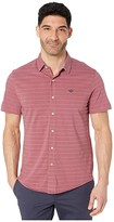 Dockers Short Sleeve Smart 360 Flex Ultimate Button-Up Flex Shirt (Renaissance Rose) Men's Clothing