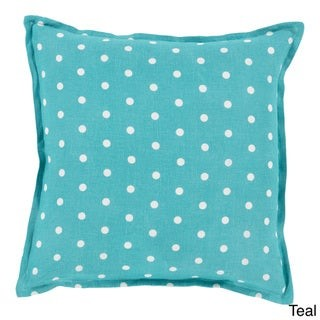 Overstock Decorative Gilmour 18-inch Poly or Feather Down Filled Throw Pillow