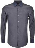 HUGO BOSS Black Jonnes Shirt Grey