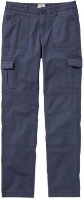 L.L. Bean Women's Stretch Canvas Cargo Pants, Lined
