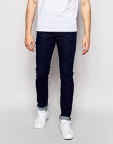 Pull&bear Slim Fit Jeans In Indigo