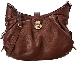 Louis Vuitton Brown Mahina Leather Mordore Xs