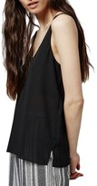 Topshop Women's Double Strap V-Back Camisole