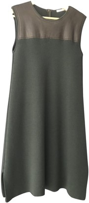 Chloé Green Wool Dresses
