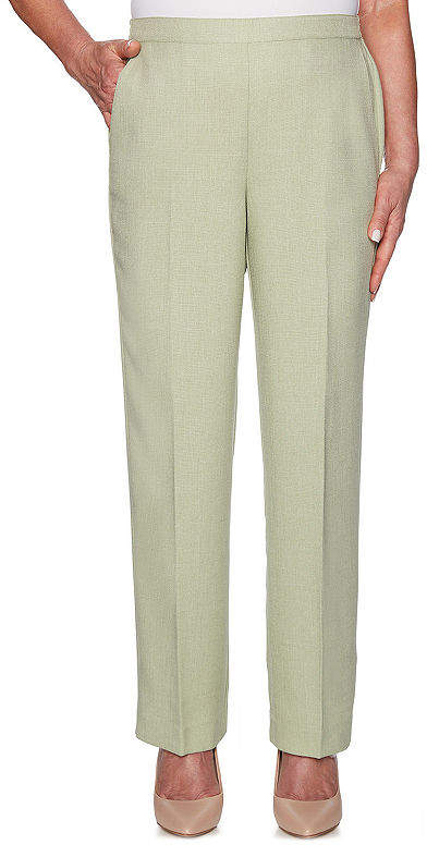 b9cd29687b0c4d Alfred Dunner Flat Front Pants - ShopStyle