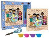 """Child's 6-Piece """"Baking Around The World"""" Cookbook Kit by Yvette Garfield"""