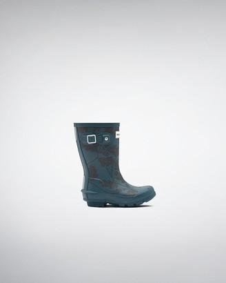 Hunter Original Kids National Trust Print Rain Boots
