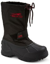 Arctic Cat Boys' Snowshower Winter Boots - Black/Red