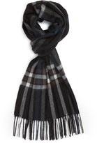 Nordstrom Men's Clean Plaid Wool Scarf