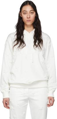 Dolce & Gabbana White Stars Logo Hoodie