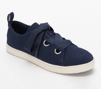 Koolaburra By Ugg Suede and Canvas Sneakers - Penley