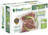 """FoodSaver FSFSBF0746 Freezer Rolls 8"""" & 11"""""""
