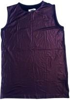 Maison Margiela Purple Cotton Dress for Women
