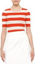 Akris Punto Women's Stripe Milano Knit Top