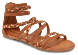 OLIVIA MILLER High Tide Two Tone Strap Sandals Women's Shoes