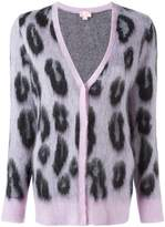 Giamba leopard print cardigan