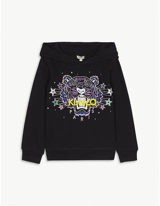 Kenzo Fashion icon cotton hoody 4-14 years