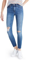 Madewell Women's High Rise Crop Jeans