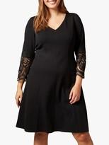 Studio 8 Malene Ponte Dress, Black
