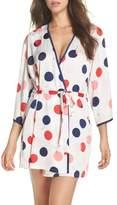 Kate Spade charmeuse short robe