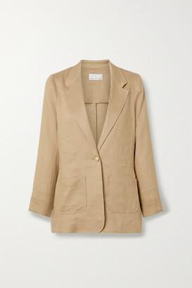 Miguelina Bleecker Linen Blazer - Light brown