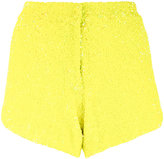 Manish Arora sequinned shorts - women - Nylon/Polyester - 34