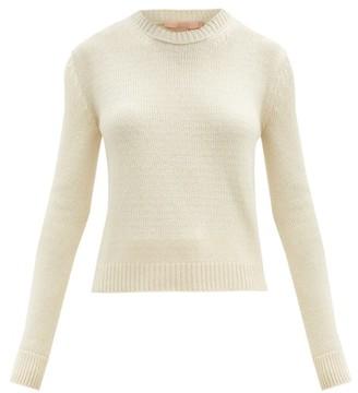 Brock Collection Round-neck Cashmere Sweater - Beige