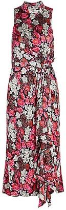 Cinq à Sept Julian Printed Silk Dress