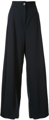 Taylor Attained wide-leg trousers