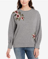 Vintage America Embroidered Pullover Sweatshirt