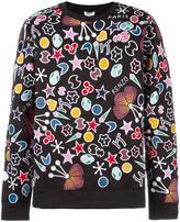Kenzo multi symbol embroidered sweatshirt - men - Cotton/Polyester - M